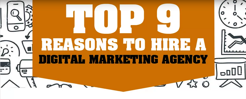 Top nine reasons to hire a digital marketing agency bravio group video cover
